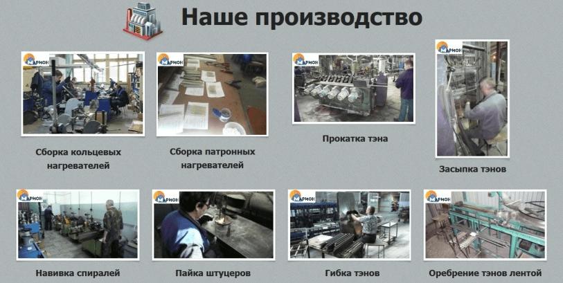 продукция компании